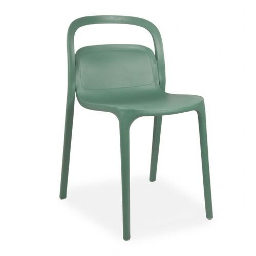Plastic Stackable Green Smith1 Chairs